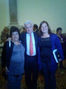 Bety, Mayra y Demetrio Sodi