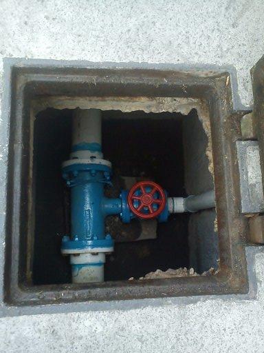 Mantenimiento de tubería de agua potable