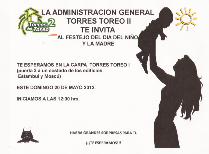 InvitaciÓn A Desayuno DÍa De Las Madres: Invitaciones Del Dia De La Madre