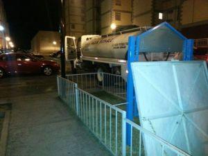 Abastecimiento de agua potable con pipa
