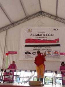Recepción de tarjetas Capital Social